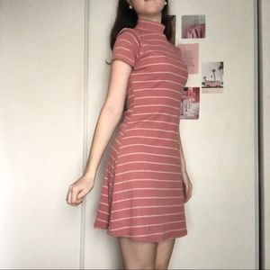 Cutesy pink striped dress